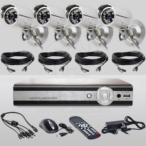 Система камер для наружного видеонаблюдения