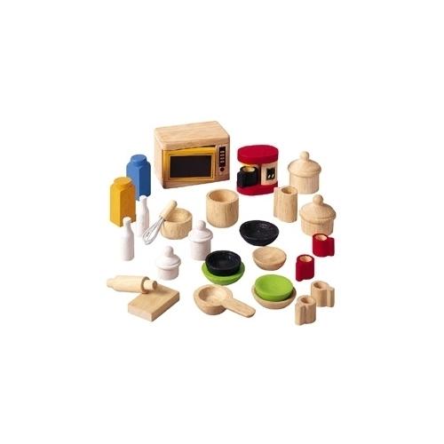Akcesoria dla lalek PlanToys Dodatki i naczynia do kuchni