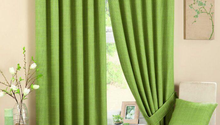зеленые шторы 1 9