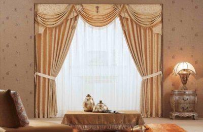 класические шторы 1 2