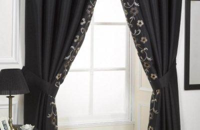 черные шторы 2 18
