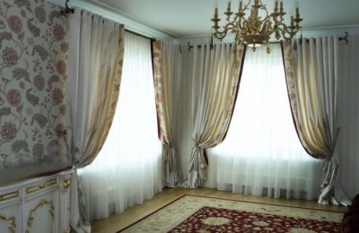 Curtains on the grommet 5