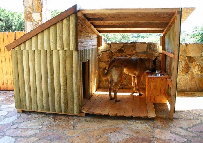 Фото как сделать будку для собаки своими руками