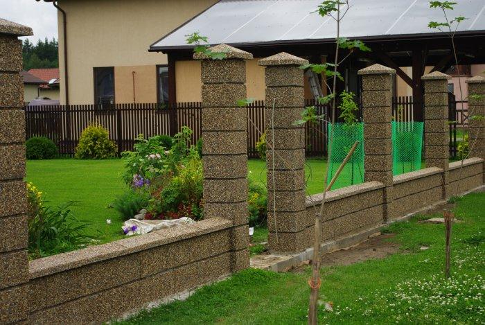 Забор перед домом своими руками фото 38