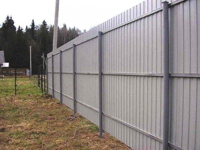 Забор из профнастила (10)