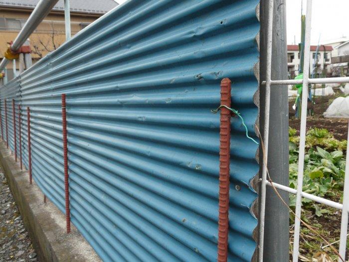 Забор из профнастила (13)