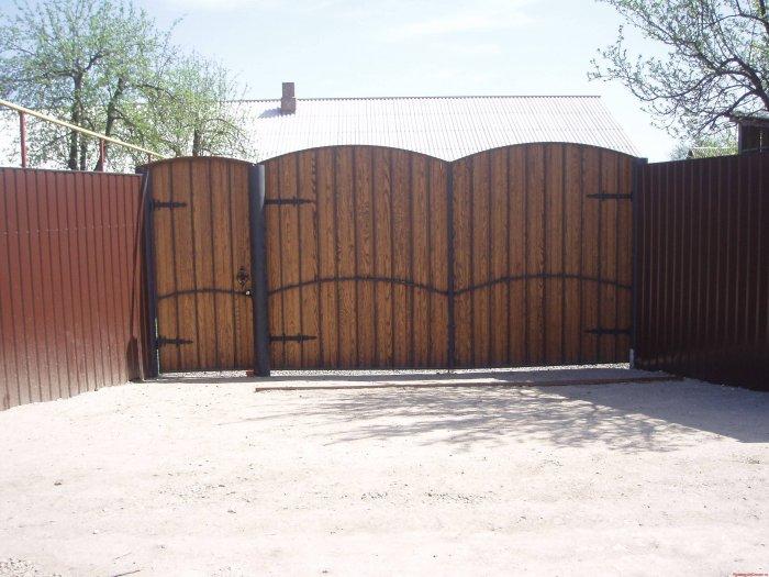 Забор из профнастила (36)