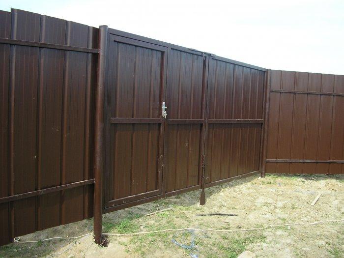 Забор из профнастила (37)