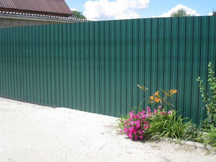Забор из профнастила (44)