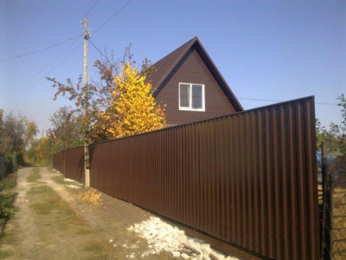 Забор из профнастила (45)