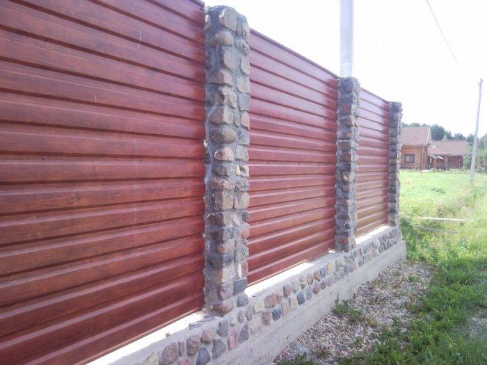 Забор из профнастила (48)