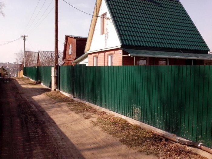 Забор из профнастила (49)