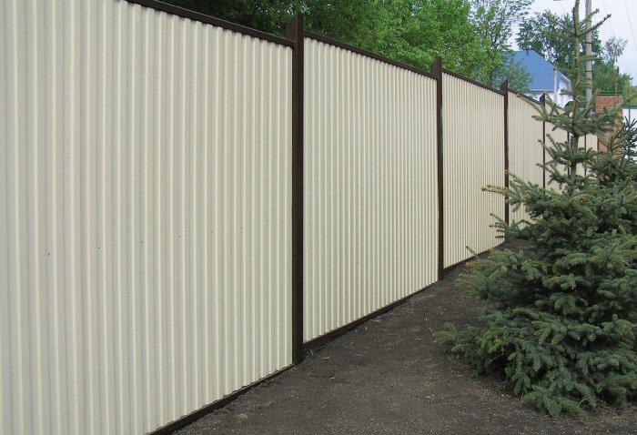 Забор из профнастила (51)
