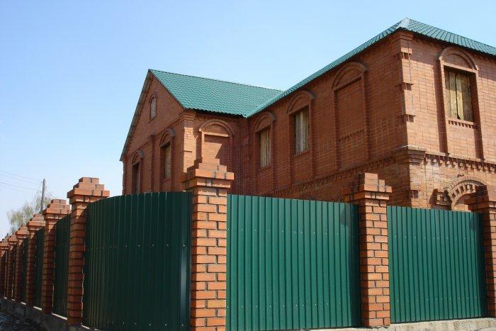 Забор из профнастила (57)