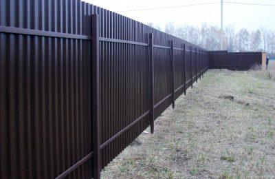Забор из профнастила (58)