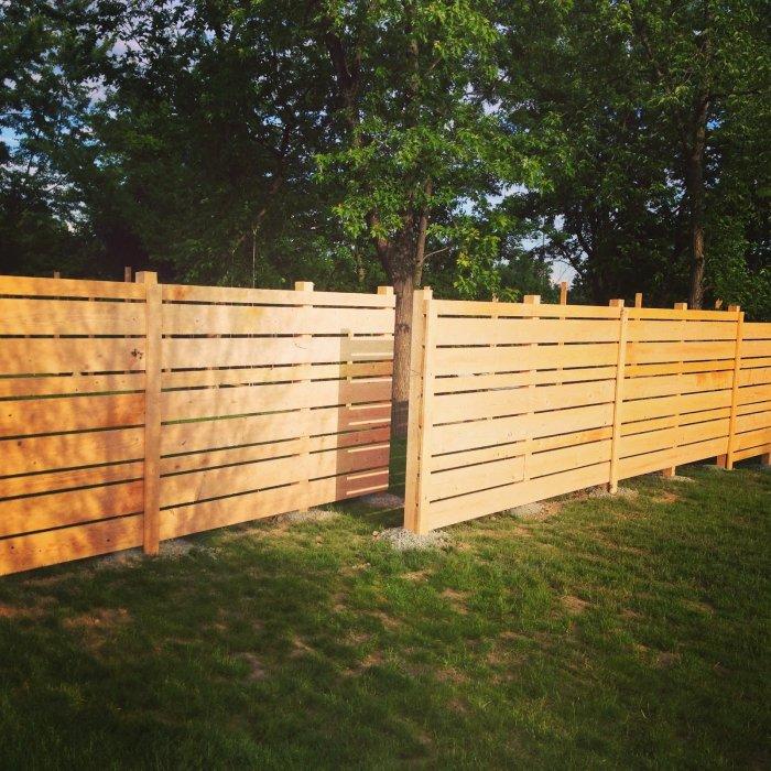 Забор из профнастила (7)