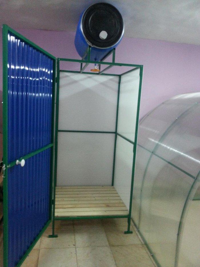 Как сделать летний душ на даче (11)