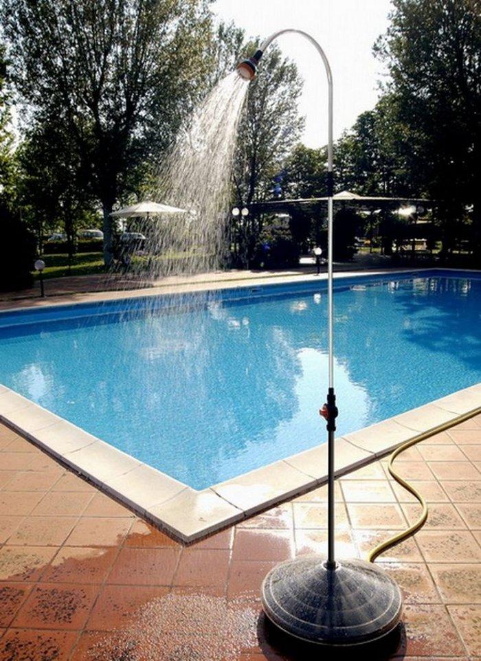 Как сделать летний душ на даче (25)