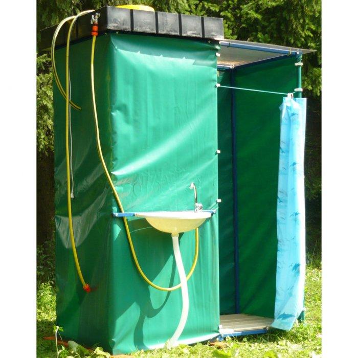 Как сделать летний душ на даче (29)