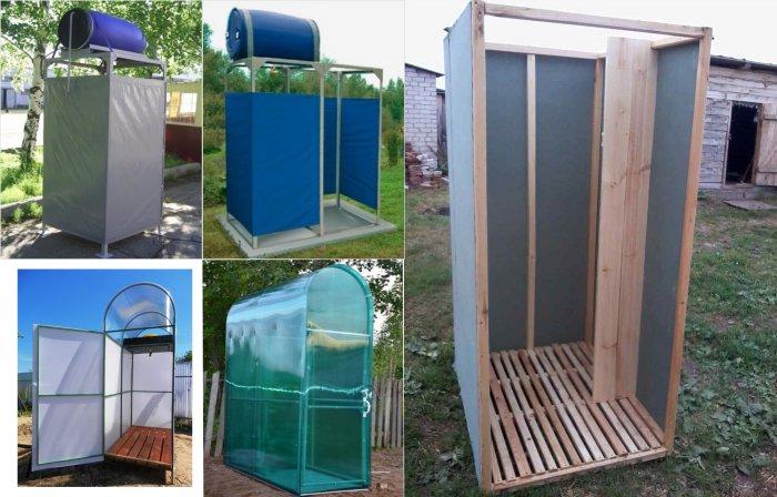 Как сделать летний душ на даче (33)