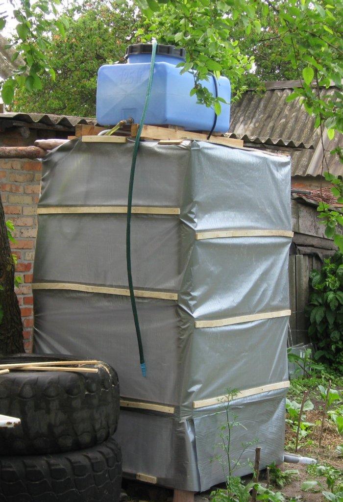 Как сделать летний душ на даче (35)