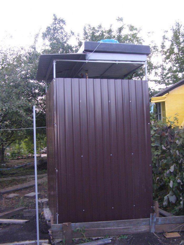 Как сделать летний душ на даче (39)