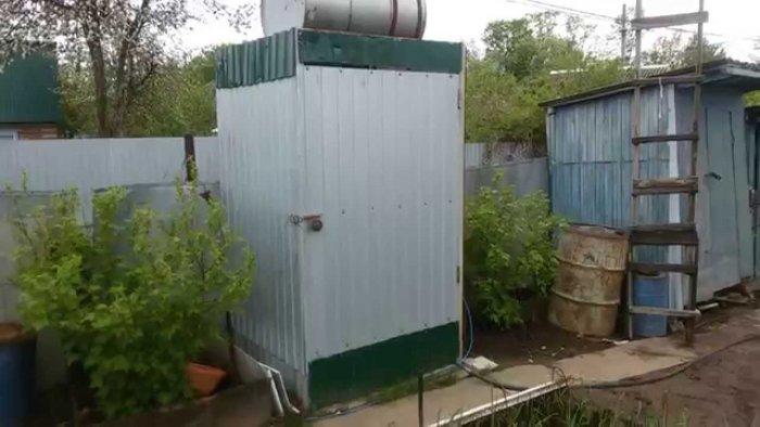 Как сделать летний душ на даче (42)