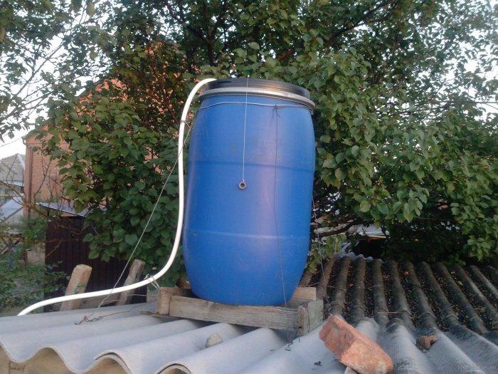 Как сделать летний душ на даче (43)