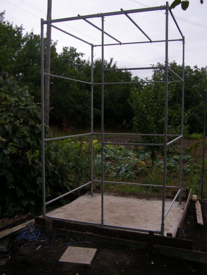 Как сделать летний душ на даче (44)