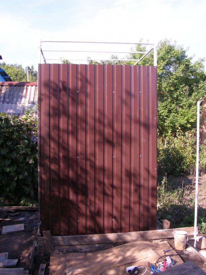 Как сделать летний душ на даче (46)