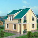 Красивые дачные дома 18