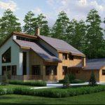 Красивые дачные дома 21