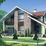 Красивые дачные дома 22