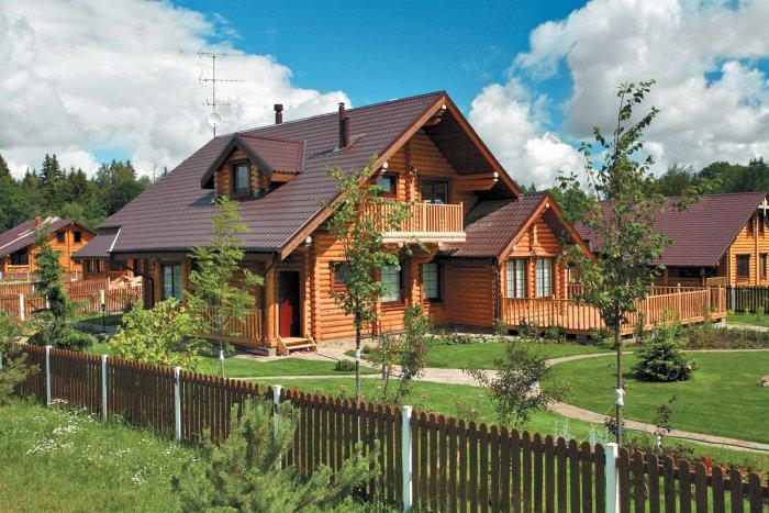 Красивые дачные дома (36)