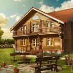 Красивые дачные дома 4 2