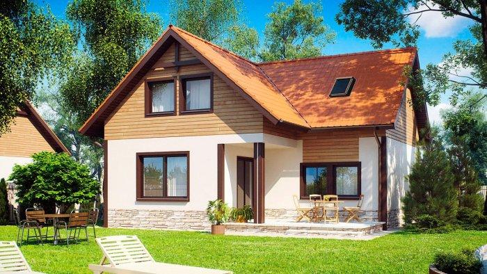 Красивые дачные дома (45)