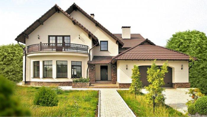 Красивые дачные дома (60)