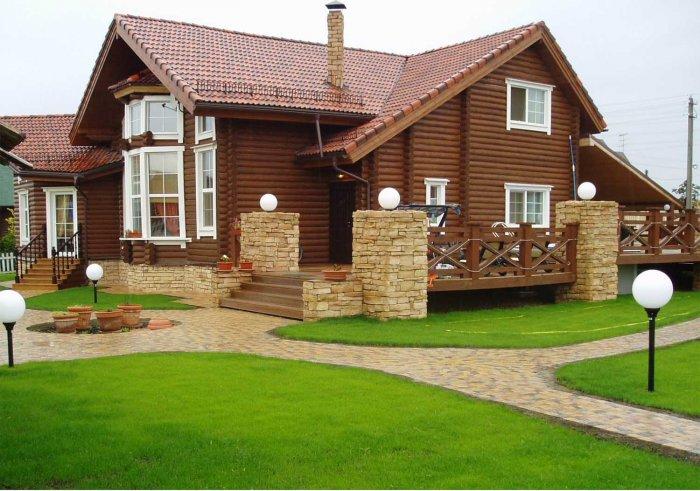 Красивые дачные дома (78)