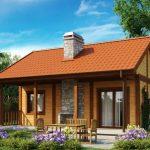 Красивые дачные дома 9