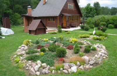 Ландшафтный дизайн дачного участка (25)