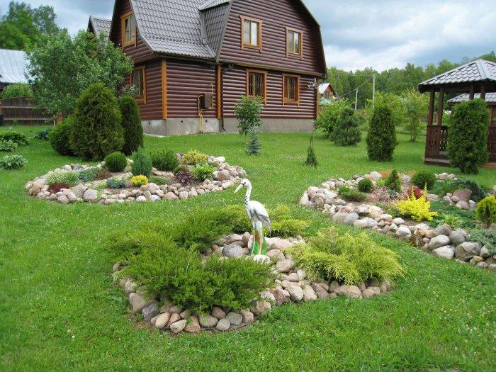 Ландшафтный дизайн дачного участка (56)