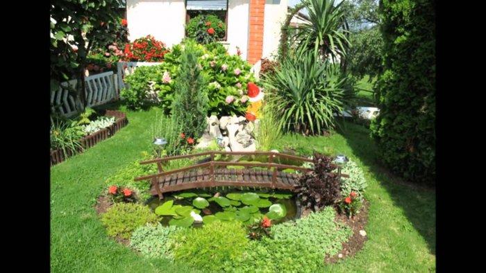 Обустройство двора частного дома (23)