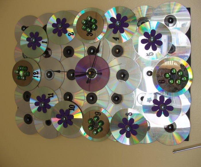 Поделки из дисков (40)
