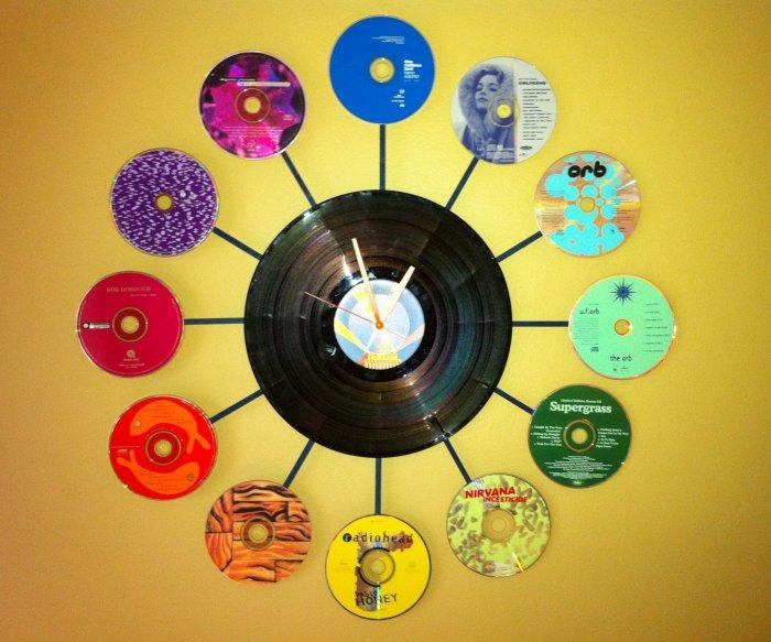 Поделки из дисков (52)