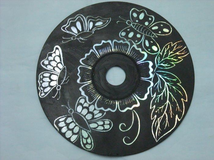 Поделки из дисков (71)