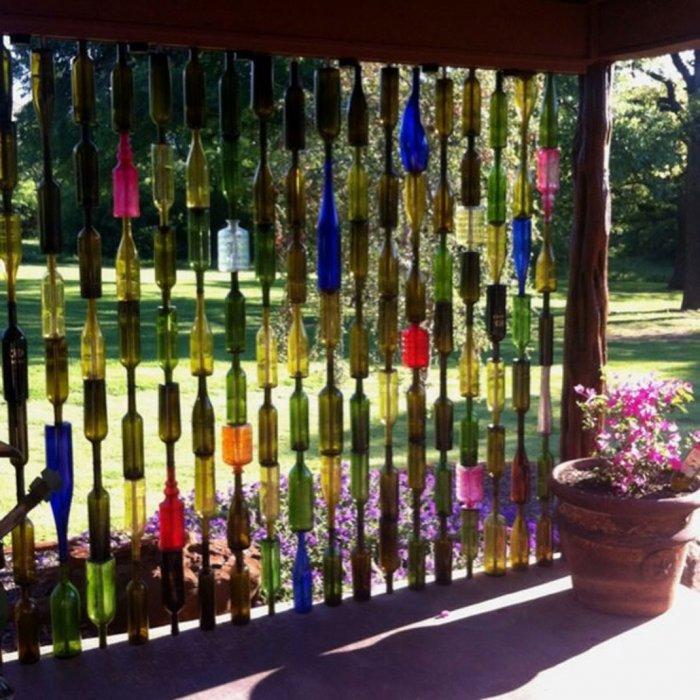 Поделки из пластиковых бутылок для дома и дачи (10)