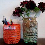Поделки из пластиковых бутылок для дома и дачи (11)