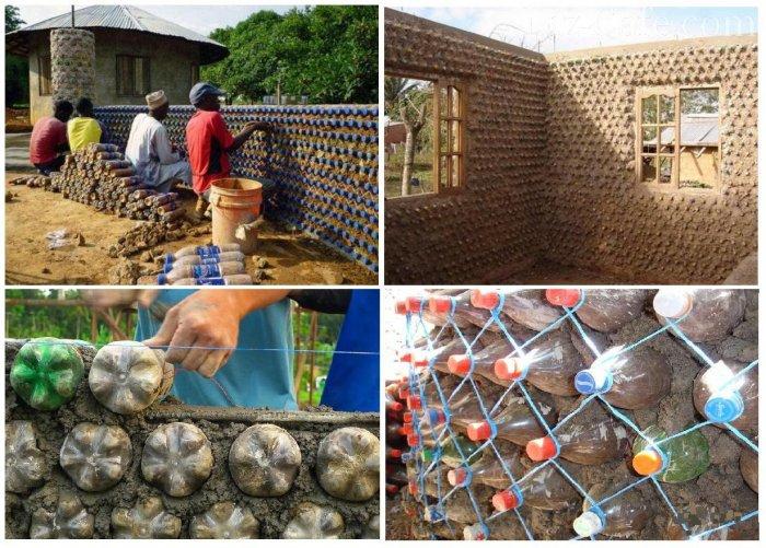 Поделки из пластиковых бутылок для дома и дачи (37)