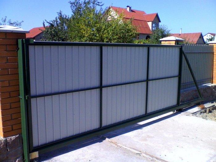 Сдвижные ворота (1)