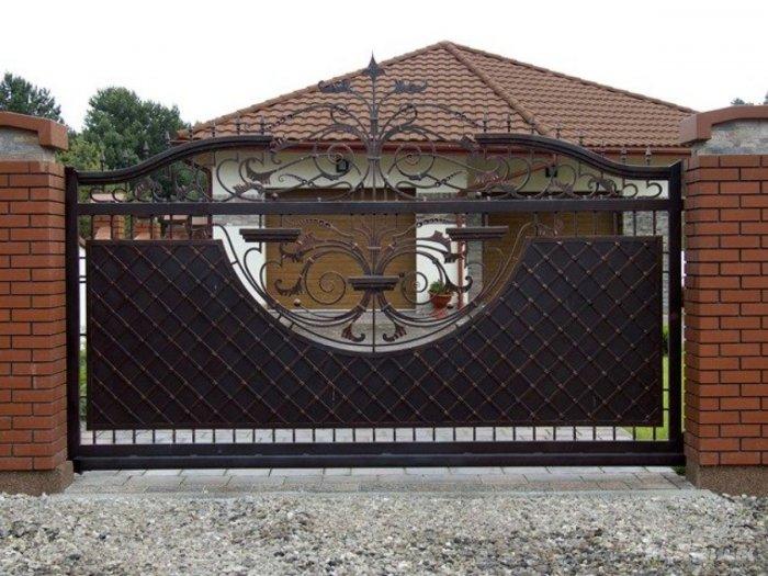 Сдвижные ворота (11)